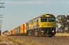 Well Ahead (Henry's Railway Gallery) Tags: qbx001 qbx004 qbxclass ziyangsda1 qubelogistics 1cm7 cm7 freighttrain containertrain gerogery tabletop