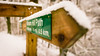 show me the way! (grahamrobb888) Tags: nikon nikond800 d800 nikkor nikkor20mmf18 winter white woods wideangle cold snow snowwoods birnamwood birnam perthshire scotland quiet tranquil signpost sign path pathway footpath birnamhill