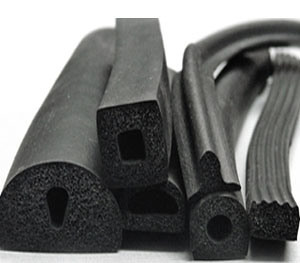 EPDM Silicone Foam Rubber Extrusion Profiles 1