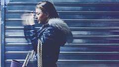 Walking away (Vincent Monsonego) Tags: sony α αlpha alpha ilce7rm2 a7rii a7r2 fe 28mm f2 sel28f20 prime lens street portrait walking away cold winter city urban girl