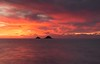 The Brisons (Mousehole_Tom) Tags: fire sky sunset cape cornwall prisons st just beautiful colours