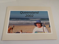 08Jan18 Found this while having a tidy up. It's photos of our journey to Queensland in 2002. #CF18 #Journey