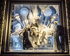 "2017 Bergdorf Goodman ""To New York with Love"" Holiday Window Display, Midtown Manhattan, New York City (jag9889) Tags: 2017 2017holidaywindowdisplay 20171203 5thavenue architecture art artwork bg bergdorfgoodman building christmas chryslerbuilding clock clothing departmentstore display dress fashion fifthavenue flagship gowns holiday house kunst lamppost manhattan mannequin midtown ny nyc newyork newyorkcity night nightphotography nightscene outdoor plastik reflection retail sculpture skulptur storewindow usa unitedstates unitedstatesofamerica window jag9889"