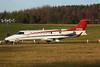 N70SB Learjet 75 EGPH 08-12-17 (MarkP51) Tags: n70sb learjet 75 bizjet corporatejet edinburgh airport scotland aviation aircraft airplane plane image nikon d7200 sunshine sunny aviationphotography