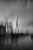 embedded communication (ChrisRSouthland (on/off, away for work)) Tags: water river tower brisbane mm mmonochrom bw blackandwhite blackwhite monochrome elmarit28mmf28 icm intentionalcameramovement motionblur