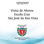 Visita de alunos da Escola - Cras - São José da Boa Vista