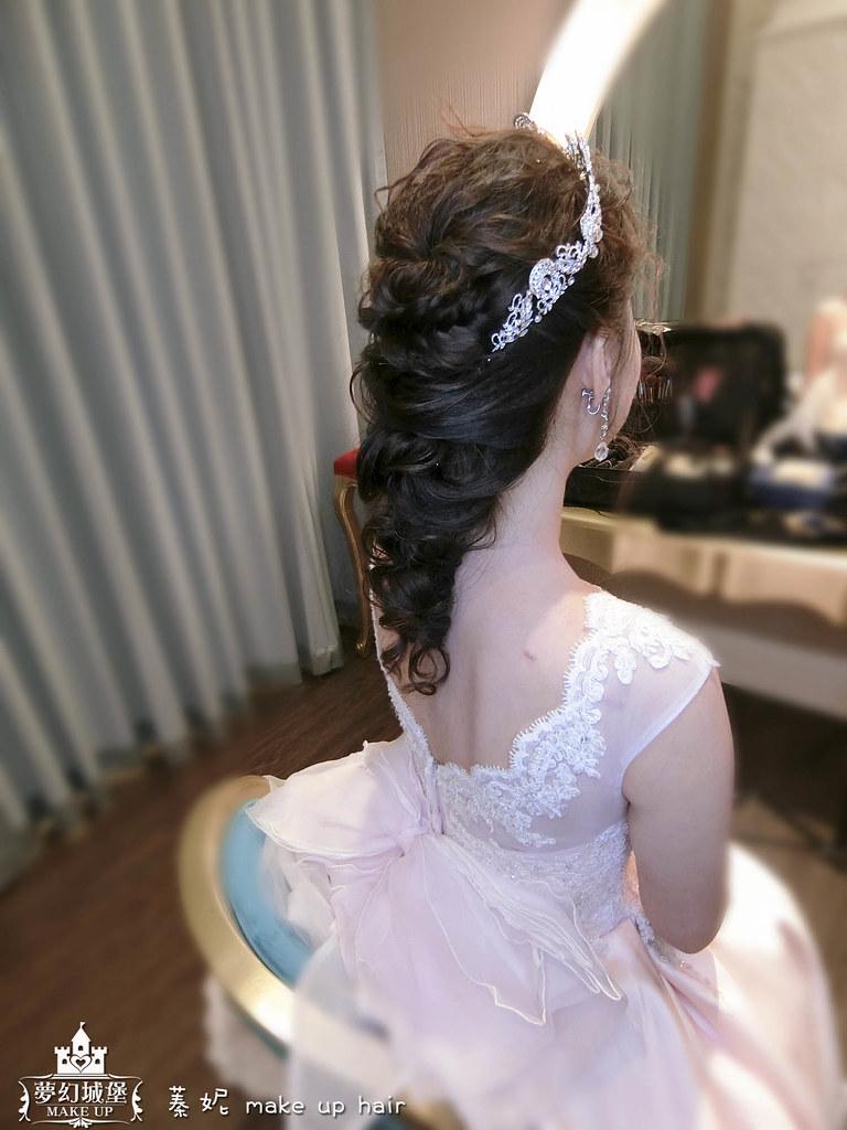 【新秘蓁妮】bride雅智 歸寧造型 / 彰化皇潮鼎宴婚宴會館