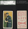 """1911 T212-3 Obak Cigarettes Baseball Card - CHARLES """"MOOSE"""" CY SWAIN (Outfielder) (Vancouver Beavers / Northwestern League) (Pollard Collection) (#415) (Treasures from the Past) Tags: t212 tobaccocard tobacco 1909 1910 1911 cigarette cigarettecard americantobaccocompany t212obak obak baseballcard vintage californiabranch obakmouthpiececigarettesbrand mouthpiececigarettes nwl northwestleague northwesternleague pcl pacificcoastleague cyswain mooseswain charlesswain vancouverbeavers outfielder"""