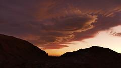 beeindruckende Wolkenformation (marionkaminski) Tags: chile atacamawüste desiertodeatacama wüste desert desierto atacama landscape paisaje paysage sky wolken clouds nubes nuages panasonic lumixfz1000 sunset coucherdusoleil lateinamerika südamerika southamerica puertedelsol