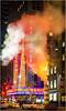 New York (beninfreo) Tags: newyork radiocity night light neon steam volcano chimney conedison afterdark contrast colour color saturation sony rx100 rx100m3
