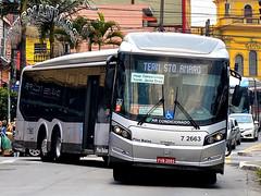 7 2663 Viação Campo Belo (busManíaCo) Tags: viaçãocampobelo caio millennium brt articulado mercedesbenz o500uda bluetec 5