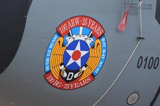 USAFE, Boeing KC-135R (58-0100), 100th ARW