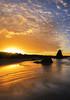 Sunrise at the Ocean (Sveta Imnadze) Tags: oregoncoast sunrise bandon bandonbeach pacificocean