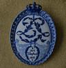 Danish royal commemorative plate from 1897 (frankmh) Tags: ceramics plate commemorativeplate denmark royal hittarp sweden indoor