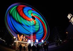Vmaxx Magdeburg (Froschkönig Photos) Tags: vmaxx magdeburg weihnachtsmarkt kotzschleuder fisheye fischauge 6000 a6000 ilce6000 sonyalpha6000 sel16f28 vclecf1 langzeitbelichtung giantrides schnecke snegle spirale light licht