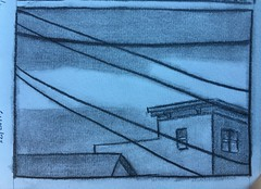 12/21/17. Looking out window of laundromat today... (Chris Francz) Tags: stroudsburgpaartist lifedrawing urbansketchers citysketchers 9thststroudsburgpa drawingatthelaundromat 9thststroudsburhpa pencilshadingart pencilart drawingofbuilding pencildrawing artistssketchbook sketchbookdrawing sketchbookpage chrisfranczart chrisfrancz stroudsburgpa urbansketch