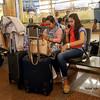 """Travel ("""" Don Quixote """") Tags: people airport waiting travel kingkhalidairport riyadh ksa saudi"""