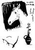 1998_1 (Мария Юрист) Tags: чернила ink погаптилу художка косойдержатель графика obliquepen учусь животные animals 365 brushpen брашпен