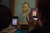 This Picture (sdupimages) Tags: paris vangogh autoportrait art peinture paint picture cellular phone street museum musée