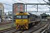 Strathfield in the gloom with 3SA8 (highplains68) Tags: aus australia nsw sydneytrains indianpacific 3sa8 strathfield rail railway passenger train