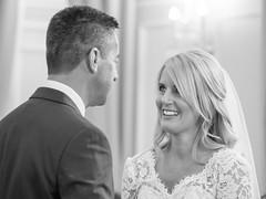 Wedding vows - Louisa & Paul (johnnewstead1) Tags: wedding weddingday weddingphotographer weddingphotography norfolkwedding norfolkweddingphotographer norfolk norwich assesmblyhouse blackwhite blackandwhite monochrome olympus em1 mzuiko johnnewstead simonwatsonphography