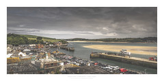 The roofers (Khun Jeremy) Tags: padstow bay dock quay cornwall sony
