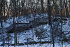 High Park staircase, dusk (jer1961) Tags: toronto highpark staircase steelstaircase snow winter