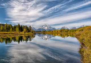 Cloudy Oxbow Bend