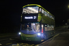 GO NORTH EAST 6321 NK67GMZ POSES AT PITY ME ON 6 JANUARY 2018 (47413PART2) Tags: nk67gmz gonortheast nebuses