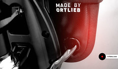 made-by-ortlieb-brompton-electric (V-fiets) Tags: bromptonelectric elektrischebrompton brompton electricbrompton electricbromptonkit ombouwbrompton bromptondesign bromptonlove bromptonart commuting vouwfietselektrische vouwfiets