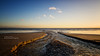 Elmer Sands Outfall 2 (rhfo2o - Rick Hathaway Photography) Tags: rhfo2o canon canoneos7d elmer elmersands bognorregis westsussex beach sea seaside sand sky sunset water ripples horizon clouds outfall drain minimal