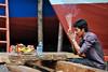 New Boat, Sihanoukville (Valdas Photo Trip) Tags: cambodia sihanoukville street photography