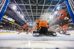 "Kansas City Mavericks vs. Colorado Eagles, December 16, 2017, Silverstein Eye Centers Arena, Independence, Missouri.  Photo: © John Howe / Howe Creative Photography, all rights reserved 2017. • <a style=""font-size:0.8em;"" href=""http://www.flickr.com/photos/134016632@N02/24278194987/"" target=""_blank"">View on Flickr</a>"