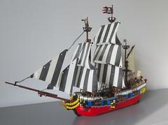 LEGO Ideas Tall Ship (sebeus) Tags: lego ideas tall ship pirate pirates barque sails