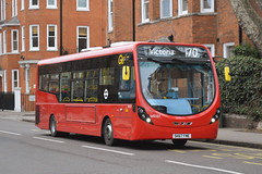 SK67 FME (WS107) Go-Ahead London General (hotspur_star) Tags: londontransport londonbuses londonbus londonbuses2017 wrightbus streetlite tfl transportforlondon hybridbus hybridtechnology busscene2017 singledeck goaheadlondongeneral sk67fme ws107 170