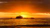 Sunrise Seascape with Island (Merrillie) Tags: landscape nature southcoast mountains orange newsouthwales sea sunrise sun batemansbay beach ocean nsw australia waterscape coastal island scenery seascape water coast clouds snapperisland