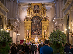 Inside a church (✦ Erdinc Ulas Photography ✦) Tags: church sevilla españa spain city ancient christian gold unique art praying panasonic flowers decorative faith believe culture traditional catholic god light jezus priester religion building statue