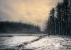 Dusk (John Dunkle) Tags: dusk estuary snow sunset