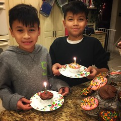 My babies turned 10 😭. (queenbee2zz) Tags: me twinboys