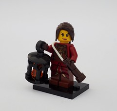 Corringtonian Lighthouse Keeper's Daughter (Robert4168/Garmadon) Tags: lego minifigure brethrenofthebrickseas corrington