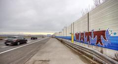 Watt (Herbalizer) Tags: watt österreich austria wall wand street strasse car auto autobahn highway graffiti