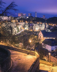 Luxemborg City Nightscape (jahbalaha) Tags: ifttt 500px landscape night tourist nikon luxembourg long exposure modern medieval blue hour nightphotography ilovenature landscapephoto landscapelover lovemycity natgeotravelpic earthexperience d750 theworldshotz luxembourgcity dreamspots natgeoadventure discoverglobe visitluxembourg igworldglobal