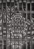 "Chandelier w/ window reflections and shadows in Grand Central Terminal Manhattan (nrhodesphotos(the_eye_of_the_moment)) Tags: dsc068083001800""theeyeofthemoment21gmailcom"" ""wwwflickrcomphotostheeyeofthemoment"" autumnwinterseason2017 brass monochrome blackandwhite nyc manhattan grandcentralterminal metal reflections shadows indoors lighting bulbs chandelier bars windows artistic historic"