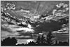 Tramonto a Pizzolungo (Luciano Schano) Tags: sonyilce3000 ilce3000 sony3000 bw paesaggio landscape ericemare trapani sicilia italia mediterraneo mare nuvole sole raggidisole sony emount 1855