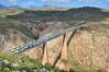 Talgo camuflado. Puente del Río Salado (rapidoelectro) Tags: talgo madrid almería puente viaducto viaduct bridge river salado río rio celosía línea largadistancia grandeslíneas spain españa 334 renfe