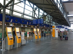 201711070 Leipzig/ Halle airport (taigatrommelchen) Tags: 20171145 germany schkeuditz building airport lej eddp