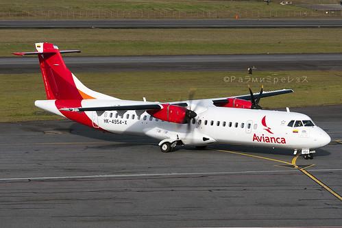 Avianca ATR 72-600 MDE