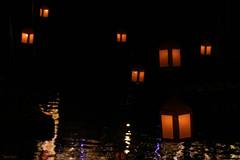 Lumières dans la nuit (martine_ferron) Tags: lanterne reflet nuit lumière laval illuminations