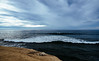 the ocean approach (almostsummersky) Tags: horizon rock cloudy sunsetcliffs cloudcover clouds california summer ocean travel water waves cliff park sunsetcliffsnaturalpark pacificocean sandiego ledge