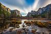 An Everchanging Landscape (Simon Huynh) Tags: elcapitan sentinelrock cathedralrocks bridalvellfall rockwater river mercerriver cloud